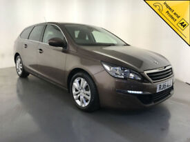 2015 PEUGEOT 308 ACTIVE SW HDI BLUE DIESEL 1 OWNER SERVICE HISTORY FINANCE PX