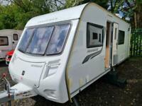 Coachman Amara 560/4 2012 4 Berth Fixed Bed Touring Caravan