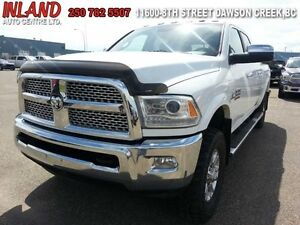 2015 Ram 3500 Laramie  Auto,Leather,Diesel,Mega Cab,Running Boar