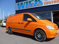 2011 Mercedes-Benz VITO 116 CDI SWB LONG VAN *160BHP* Manual Medium Van