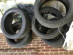 5 New tires for BMW E 60 M5 - 2006 - 2010 BMW 5 series