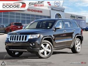 2011 Jeep Grand Cherokee Overland  HEATED/VENTED SEATS | DVD | N