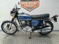 1973 HONDA CB750 FOUR IN BLUE.
