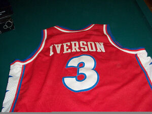Iverson basketball jersey