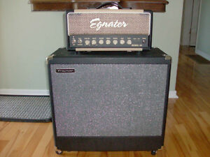 Egnater Rebel 20 Head and Traynor 1 X 12 Cabinet for sale.