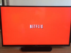 "60"" SHARP AQUOS - LED SMART TV With NETFLIX & YOUTUBE Built in"