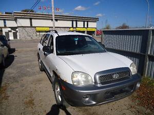 2003 Hyundai Santa Fe VUS