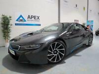 2014/64 BMW i8 1.5 edrive Auto + Pure Impulse Design + 3 Year BMW Service Pack +