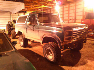 1984 Ford Bronco Pickup Truck
