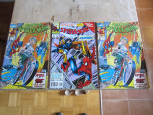 A Bunch of Spiderman Comics