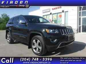 2015 Jeep Grand Cherokee 4X4 Limited **LOW KMS! LOCALLY OWNED!**