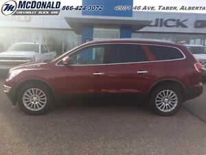 2011 Buick Enclave CXL   LEATHER! HEATED SEATS! BENCH SEATS!