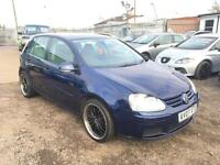 2007/07 Volkswagen Golf 1.9TDI 105PS Match LONG MOT EXCELLENT RUNNER HPI CLEAR
