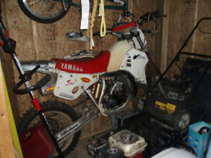 Two 1987 YZ250 1st $2000, 2nd $1000