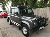 2005 55 Land Rover 110 Defender 2.5 Td5 Double Cab County 4X4 STUNNING P/X