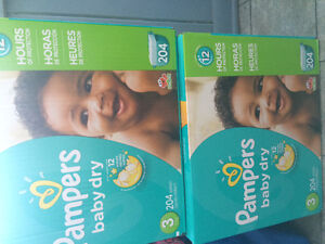Pampers size 3 diapers
