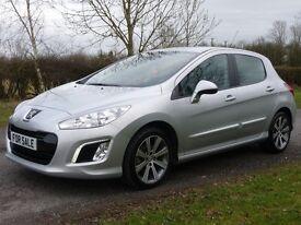 Peugeot 308 1.6 E-HDI 115 ACTIVE (silver) 2013