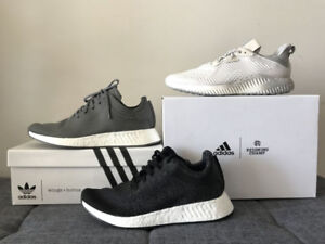 9.5 Adidas NMD, Alphabounce - x Reigning Champ, Wings + Horns