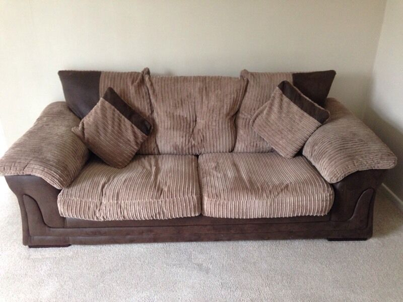 Dfs Fabric Sofa Great Condition