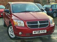 2008 Dodge Caliber Sxt 2 Auto Hatchback Petrol Automatic