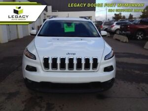 2014 Jeep Cherokee NORTH 4X4 HEATED SEATS/WHEEL LOW KM ONE OWNER