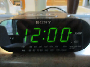 Sony Dream Machine AM FM Alarm Clock