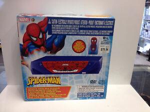 (sold)Spider-Man DVD Player-Model KSS9116
