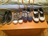 4 pairs of quality trainers
