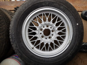 New BMW tire and rim