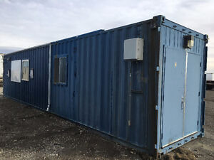 Insulated Modular Sea Containers (Site Office, Hunting Shack!)