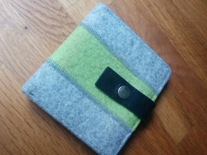 Hand crafted Etsy felt wallet