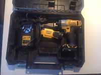 Dewalt impact drive and light 10.8v lithium £70