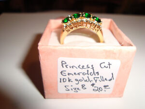 Beautiful Emerald Ring - St. Valentine's
