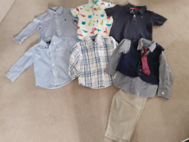 Genuine designer boys bundle 18-24 months