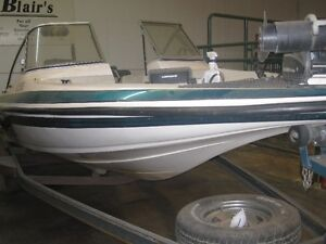 Skeeter fishing boat with trailer