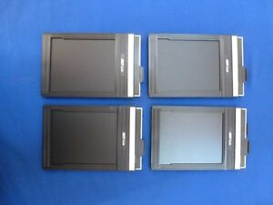 FIDELITY 4x5 CUT FILM HOLDERS for a set of 4 - $40