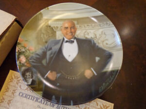 "EDWIN M. KNOWLES ""DADDY WARBUCKS"" COLLECTOR PLATE"