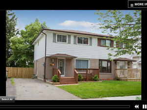 4 bedroom semi detached house for rent at queen st & Rutherford