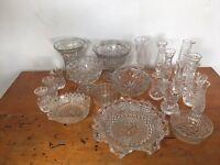 Wedding Vase Assortment - Clear
