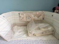 Cot/ cot bed bedding bundle original Gro bag