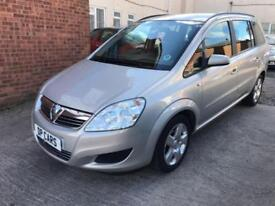 Vauxhall Zafira 1.6 Exclusiv - 2008, 79K Miles, 2 Owners, Full Service History