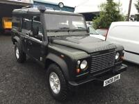 Land Rover 110 Defender 2.4TDi utility station wagon only 68,000 miles
