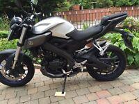 2015 Yamaha mt125 very clean bike must be seen 5000 miles £2299