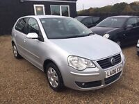 VOLKSWAGEN POLO 1.4 S 5DR 2006 (06 reg)Hatch*IDEAL FIRST CAR*CHEAP INSURANCE*FULL SERVICE HISTORY