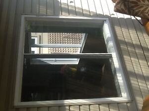 "47 1/4"" X 46 1/2"" PVC windows sliding"