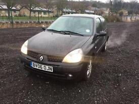 Renault Clio 1.2 ( 75bhp ) Campus Sport 3 DOOR - 2006 06-REG - 3 MONTHS MOT