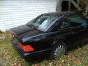 Hard top for 96 to 99 Mercedes sl 500