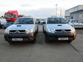 2010 60 Toyota Hi-Lux 2.5 D-4D 4WD HL2 SINGLE CAB PICK UP 4X4 144 BHP 81K MILES