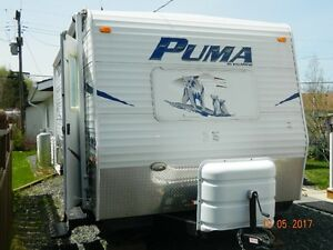 Double Axle,24 ft Puma-Palamino Travel Trailer, Excellent Cond.