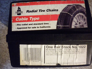 Laclede Sierra Cable Link Tire Chains